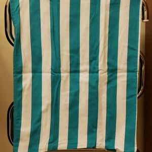 Like new blue and white stripped body pillow case
